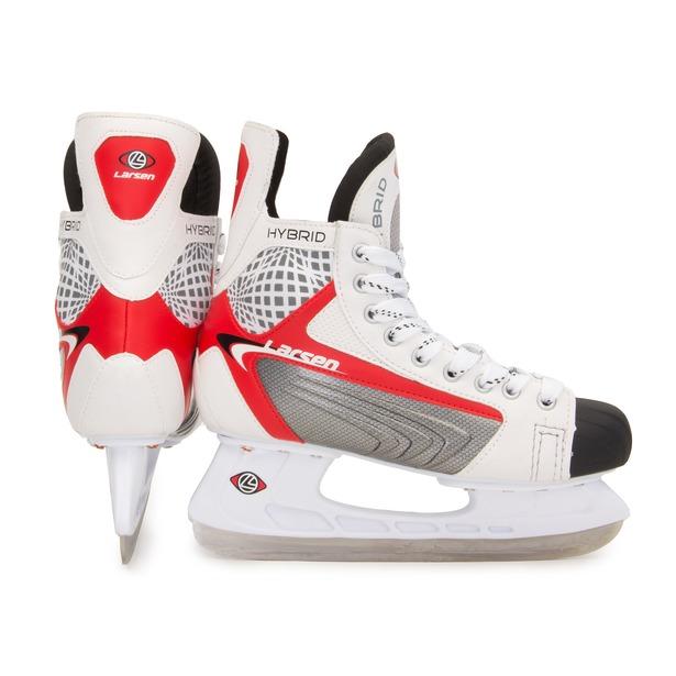 фото Коньки хоккейные Larsen Hybrid. Размер: 40