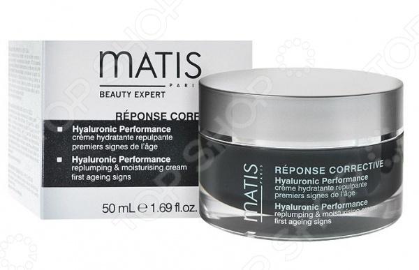 Крем для кожи разглаживающий Matis с гиалоурановой кислотой