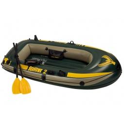 Купить Лодка надувная с аксессуарами Intex с68347 «Морской ястреб»