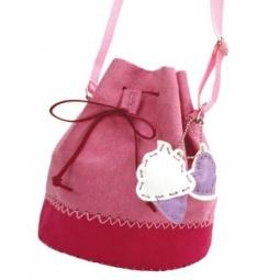 фото Набор для детского творчества Color Puppy «Шьем сумочку. Розовый каприз»