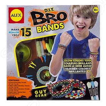 Набор для создания браслетов Alex «Сделай сам. Бро» наборы для создания украшений alex большой набор для плетения браслетов друзья
