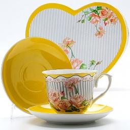 фото Чайная пара Loraine LR-23007 «Чайная роза»
