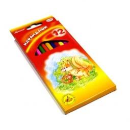 фото Набор карандашей цветных Гамма «Мультики»: 12 цветов