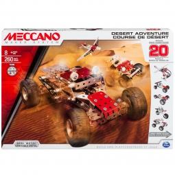 Купить Конструктор металлический Meccano «Набор приключения в пустыне»