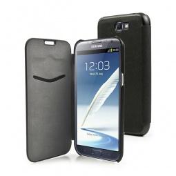 фото Чехол Muvit Flip Folio для Samsung Note 2. Цвет: черный