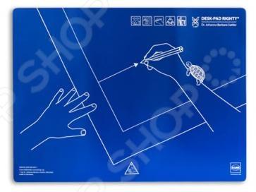 Подложка для письма KUM 5120119 - удобная подложка для письма для правшей. Позволит обучить правильно располагать руки и тетрадь на столе. На подложке расчерчены специальные знаки, которые позволяют ориентироваться при расположении рук и бумаги. Подложку можно будет разместить на любом столе. Имеет приятную текстуру для письма. Позволит приспособиться письму правой рукой.