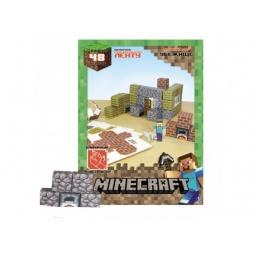 Купить Конструктор бумажный Minecraft «Убежище»
