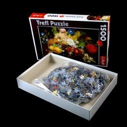 Купить Пазл 1500 элементов Trefl «Натюрморт с цветами»