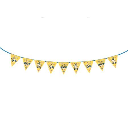 Купить Гирлянда из флажков Росмэн 28298 «Minions. С днем рождения!»