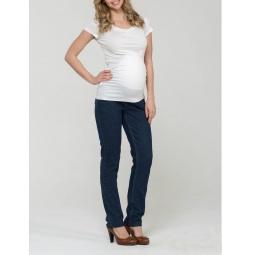 Купить Брюки для беременных Nuova Vita 5601.11. Цвет: темно-синий