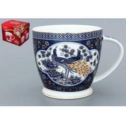 Купить Кружка Elan Gallery «Павлин синий» 730380