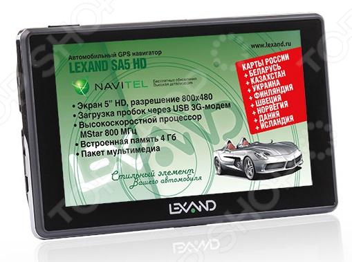 Навигатор Lexand SA5 HD Lexand - артикул: 574909
