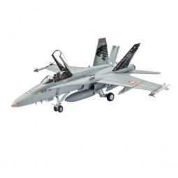 Купить Сборная модель боевого самолета Revell F/A-18C Hornet Swiss Air Force