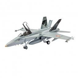 фото Сборная модель боевого самолета Revell F/A-18C Hornet Swiss Air Force