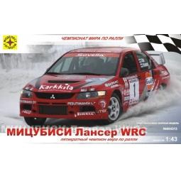 фото Сборная модель автомобиля 1:43 Моделист «Мицубиси Лансер» WRC