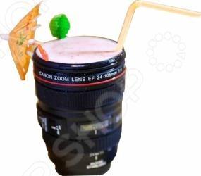Кружка 31 век Объектив фотокамеры оригинальный подарок для фотографа или любого человека, любящего необычные вещицы. С виду настоящий объектив, но на самом деле функциональная кружка для холодных и горячих напитков. Кроме того, этот предмет может подойти для сервировки необычного праздничного стола.