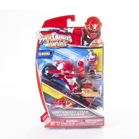 Купить Мотоцикл игрушечный с фигуркой Power Rangers 38070. В ассортименте