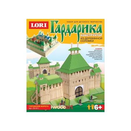 Купить Конструктор деревянный Lori «Городские ворота»