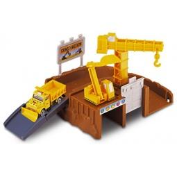 фото Набор игровой с машинкой Motormax «Строительная площадка»