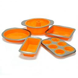 Купить Набор силиконовых форм для выпечки Delimano Fantasia Bakeware Set 5 pcs