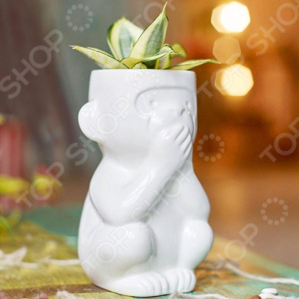 Горшок для растений Экочеловеки Eco «Молчун»