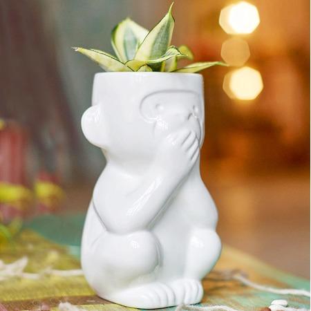 Купить Горшок для растений Экочеловеки Eco «Молчун»