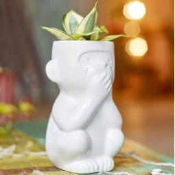 фото Горшок для растений Экочеловеки Eco «Молчун»