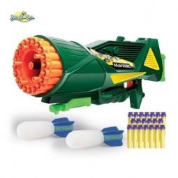 Купить Бластер - пулемет Buzz bee с ракетой