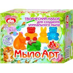 Купить Набор для изготовления мыла ДЕТИ АРТ «Мыло Арт. Зверушки»