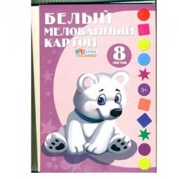 фото Набор картона белого Бриз 1126-124