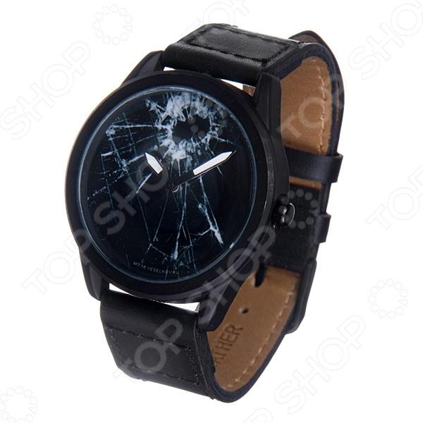 Часы наручные Mitya Veselkov «Битое стекло» MVBlack часы наручные mitya veselkov британский флаг mvblack 22