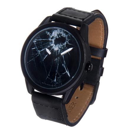Купить Часы наручные Mitya Veselkov «Битое стекло» MVBlack