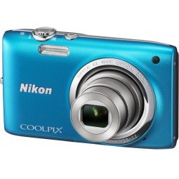 фото Фотокамера цифровая Nikon Coolpix S2700. Цвет: синий