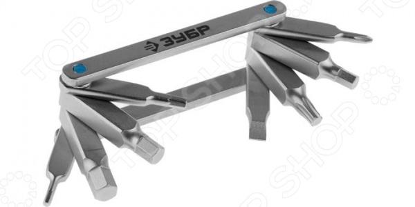 Набор ключей имбусовых складных Зубр «Эксперт» 27423-H8 набор ключей имбусовых коротких зубр мастер 27460 1 z02