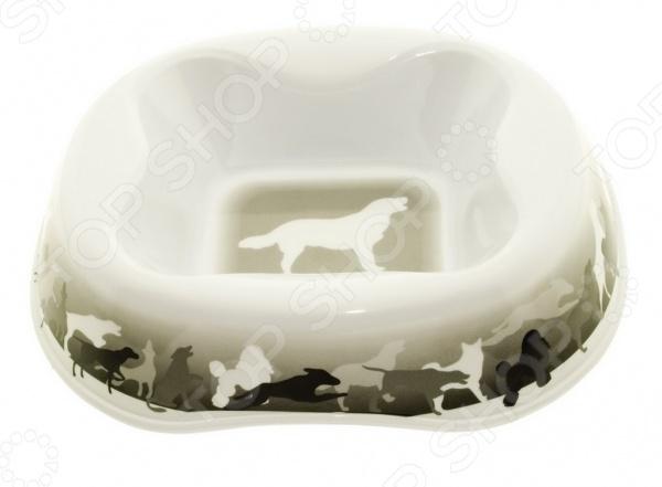 Миска для собак DEZZIE «Игра» миска для кошек разноуровневая dezzie охотник