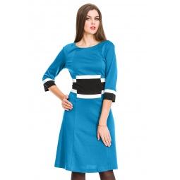 фото Платье Mondigo 5163. Цвет: морской волны. Размер одежды: 46
