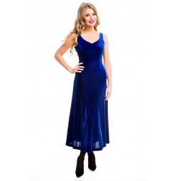 фото Платье Mondigo 7017. Цвет: синий. Размер одежды: 48