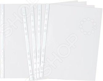 Набор файлов Silwerhof ClassicПапки, архивы<br>Набор файлов Silwerhof Classic позволит вам организовать удобное хранение документов и рабочих бумаг форматом А4 без необходимости их перфорирования. С помощью файлов вы сможете подшить необходимые вам документы в папки-регистраторы. Изделия выполнены из высококачественной прозрачной полипропиленовой пленки с гладкой поверхностью. Универсальная боковая перфорация позволяет подшить файлы в папки с кольцевым механизмом любого размера и вида.<br>