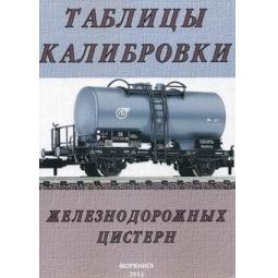 фото Таблицы калибровки железнодорожных цистерн