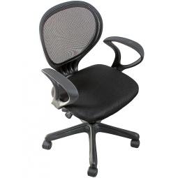 фото Кресло офисное College H-2408F. Цвет: черный