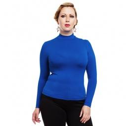 фото Водолазка Mondigo XXL 036. Цвет: синий. Размер одежды: 56