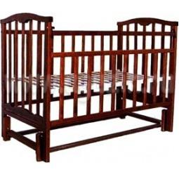 фото Кроватка детская Агат Золушка-5. Цвет: шоколадный