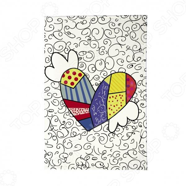 Обложка для паспорта Mitya Veselkov «Крылатое сердце» цена
