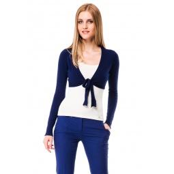 фото Болеро Mondigo 9437. Цвет: темно-синий. Размер одежды: 42