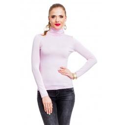 фото Водолазка Mondigo 046. Цвет: бледно-розовый. Размер одежды: 44