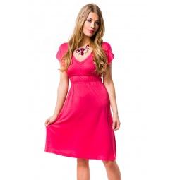 фото Платье Mondigo 8597. Цвет: коралловый. Размер одежды: 44