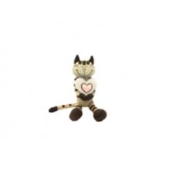 фото Мягкая игрушка Maxitoys «Кот Полосатик с сердцем»
