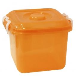 фото Ёмкость для хранения IDEA. Цвет: оранжевый. Объем: 6 л