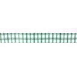 фото Скотч бумажный с рисунком ScrapBerry's Мелкая клетка. Цвет: зеленый
