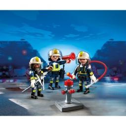 фото Конструктор игровой Playmobil «Пожарная служба: Команда пожарников»